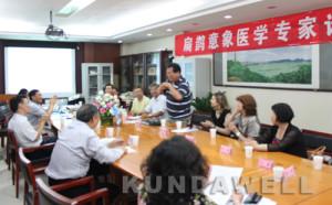 Fotka zo stretnutia, na základe ktorého prebehla akreditácia IM